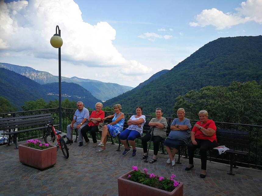 Chesio, Noord-Italië, locals