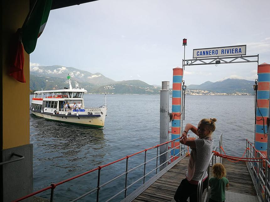 Cannero Riviera, Lago Maggiore, Noord-Italië