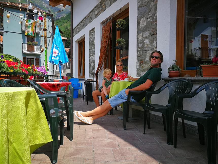 Chesio, Lago Maggiore