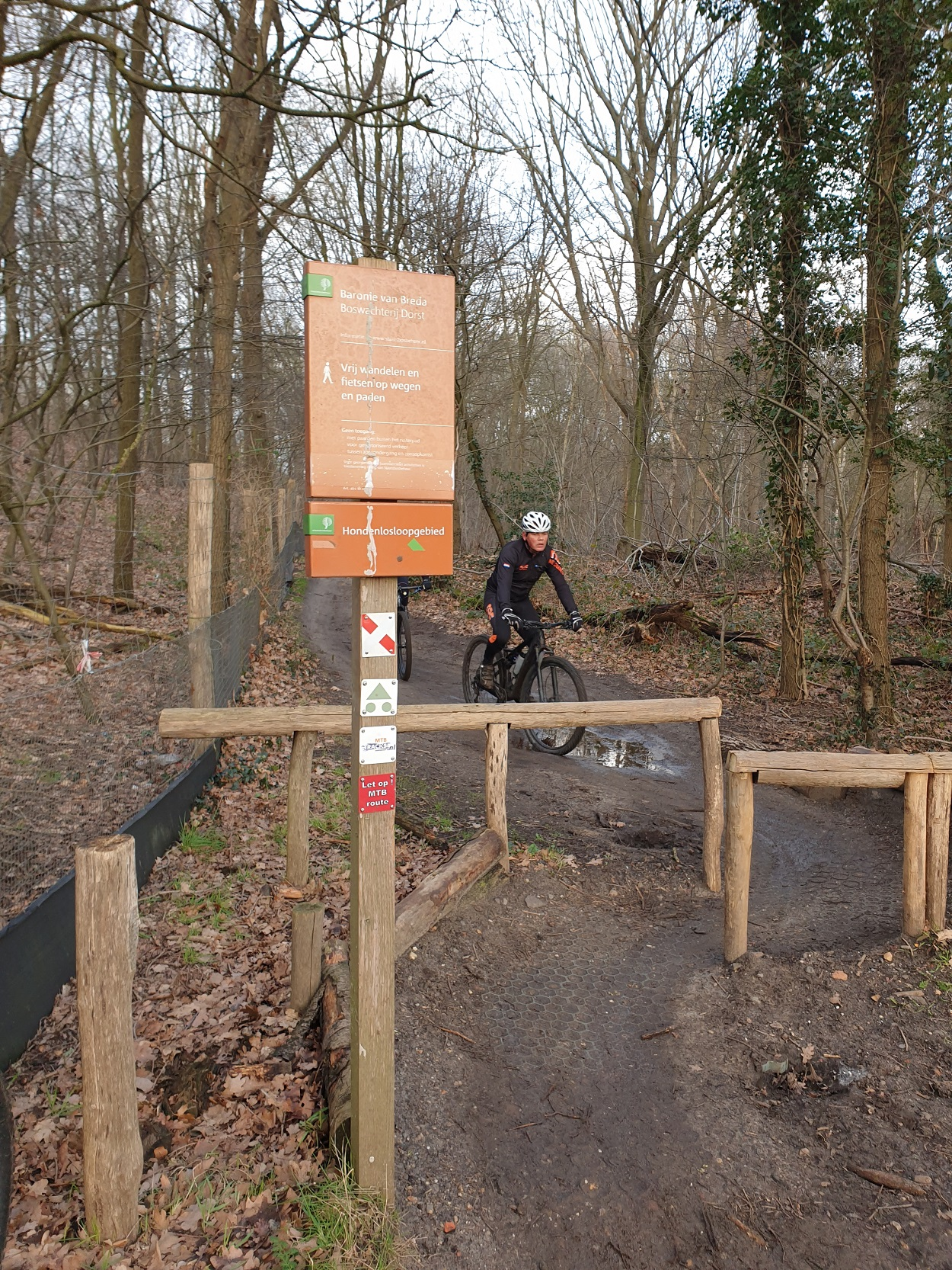 Mountainbikeroute Dorst Oosterhout
