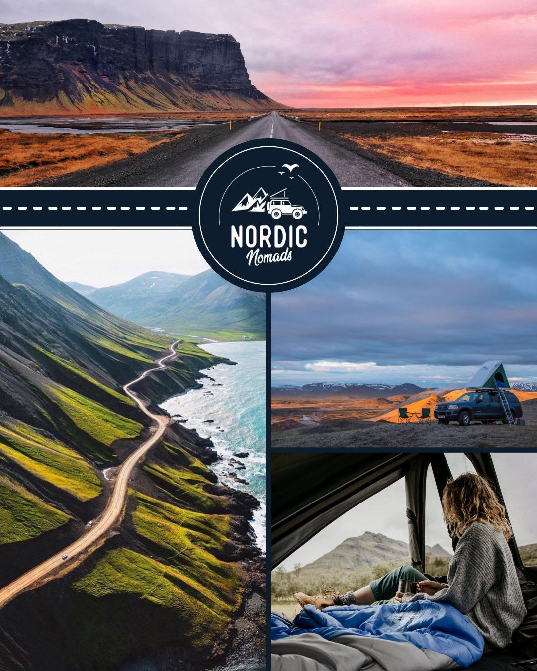 Nordic Nomads roadtrip IJsland