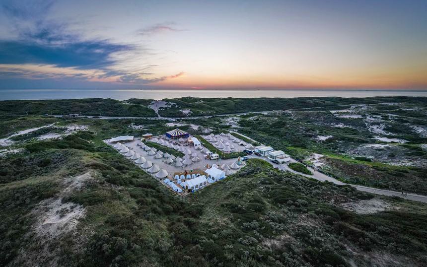 Pop-up camping Bloemendaal aan Zee