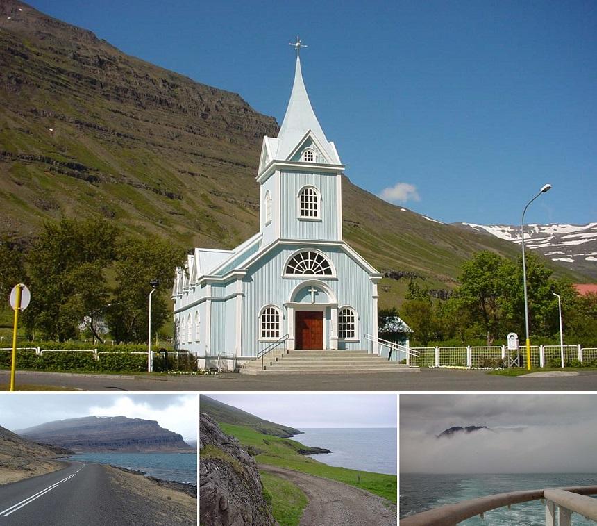 Seyðisfjörður is een klein stadje in de Oostfjorden van IJsland