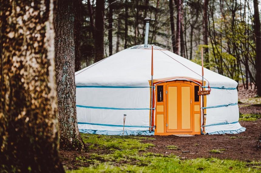 traditionele yurt