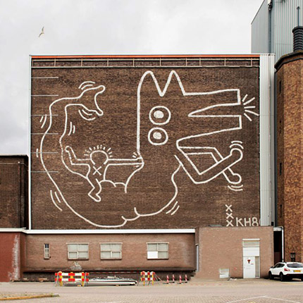 Keith Haring in Amsterdam
