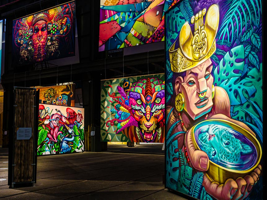 Straat Museum - Kleurrijk en fantasierijk