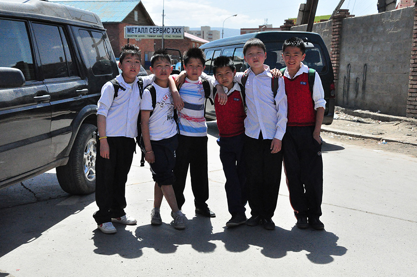 Orphans in Mongolia