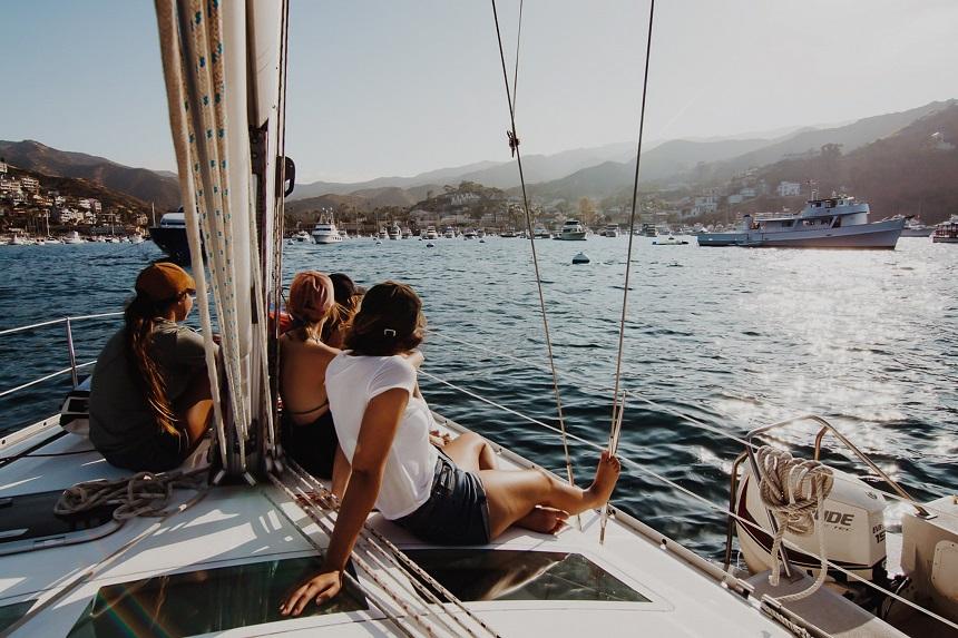 aankomst haven Kroatië