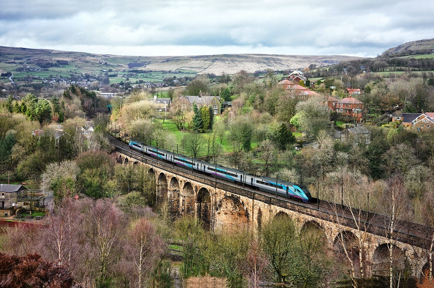 Hitachi - Transpennine Express - treinreis Noord-Engeland