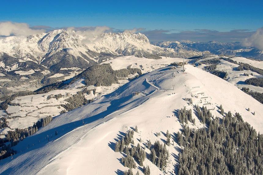 Hohe Salve, shortski in Wilder Kaiser-Brixental