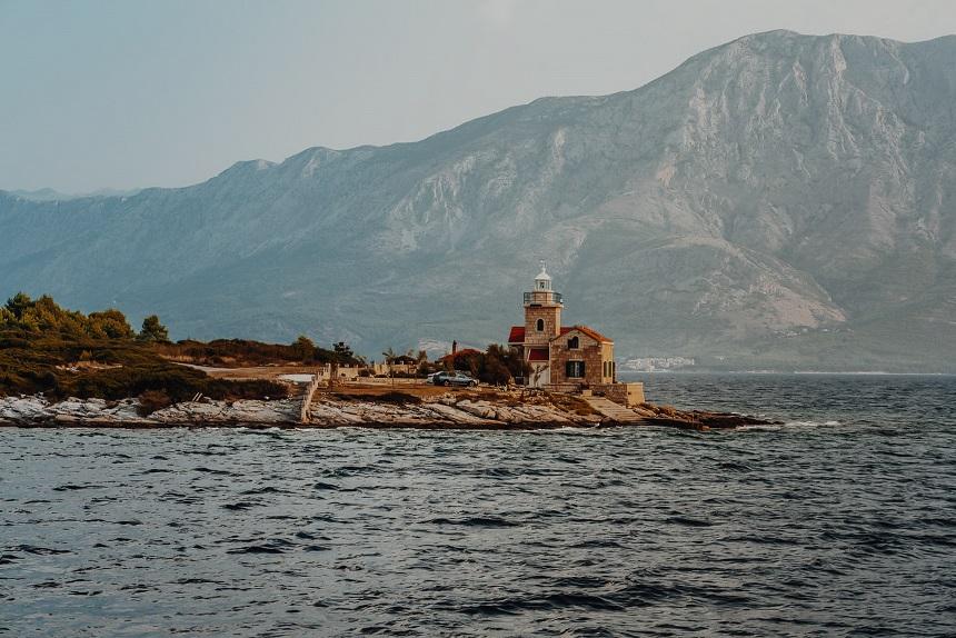 Sućuraj lighthouse Hvar