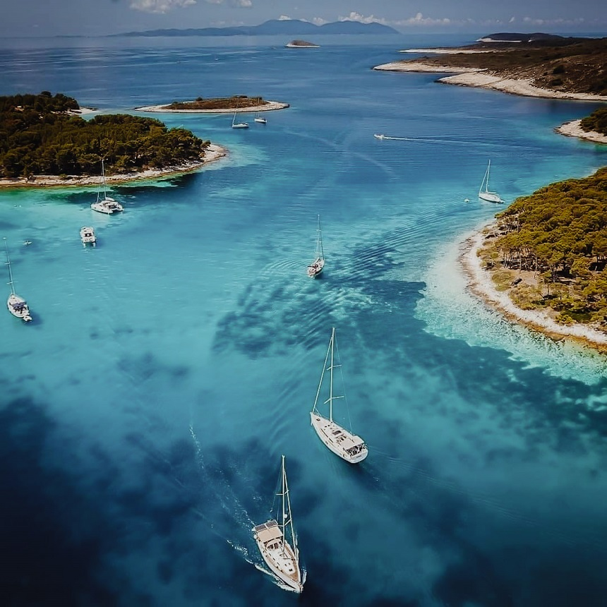 the sail trip kroatie