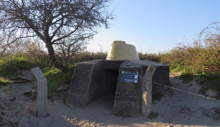Bunker route Goeree-Overflakkee