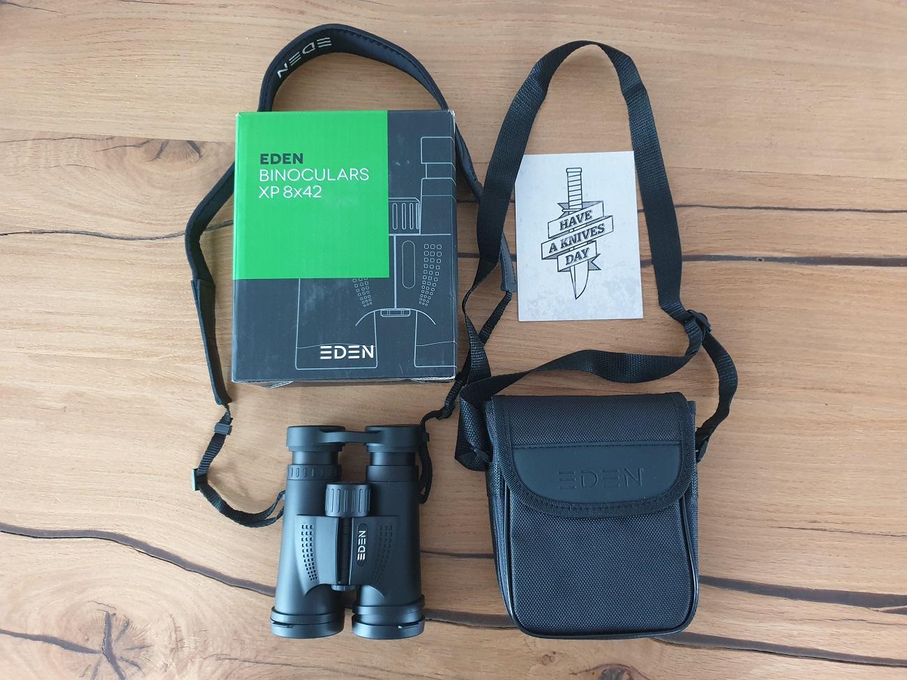 Eden XP 8 × 42 binoculars