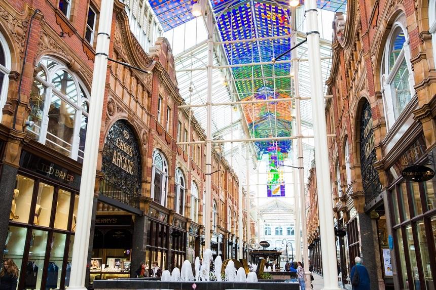Leeds Victoria Quarter - Credit HannahWebster