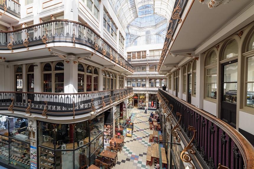Barton Arcade in Manchester
