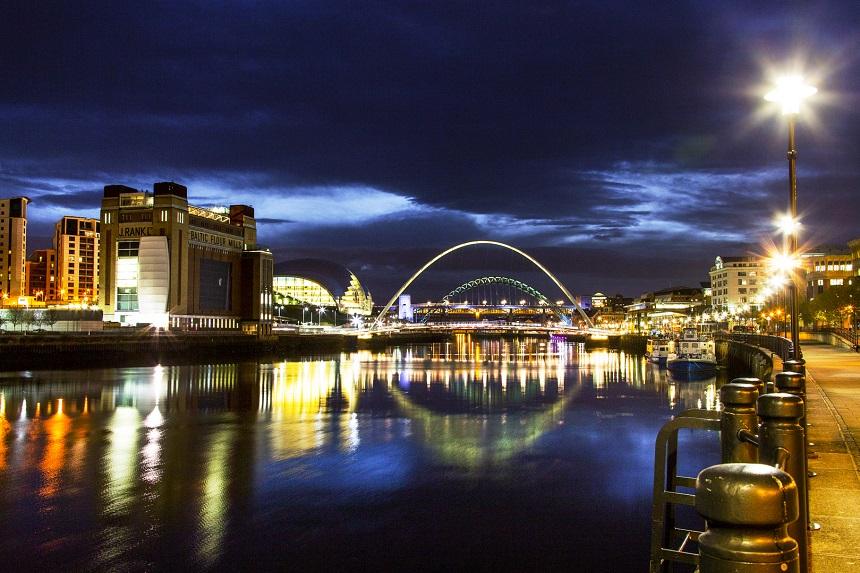 De Transpennine Express brengt je tot in Newcastle