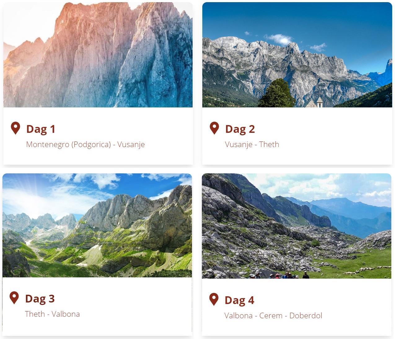 Peaks of the Balkans program