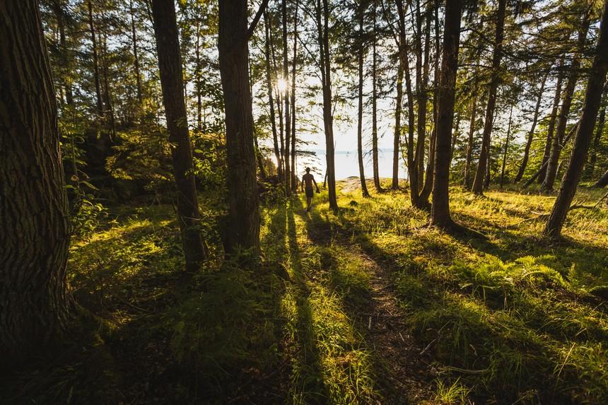 kajaktocht in Noorwegen natuur