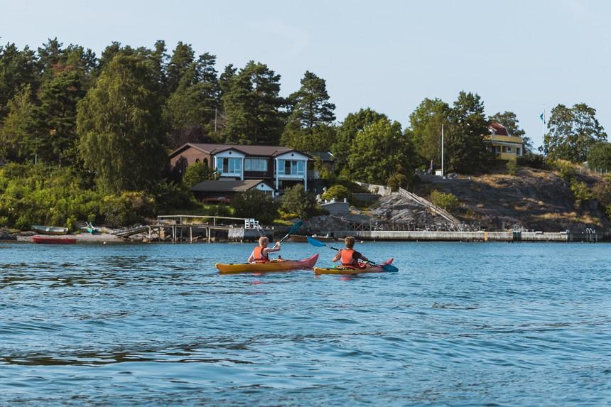 The Kayak Trip - peddeltocht