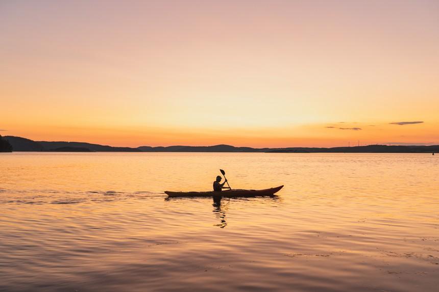 The Kayak Trip - sunset