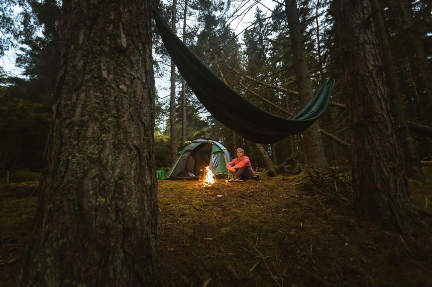 The Kayak Trip - wildkamperen