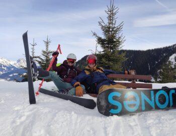 Een skihuttentocht door Oostenrijk