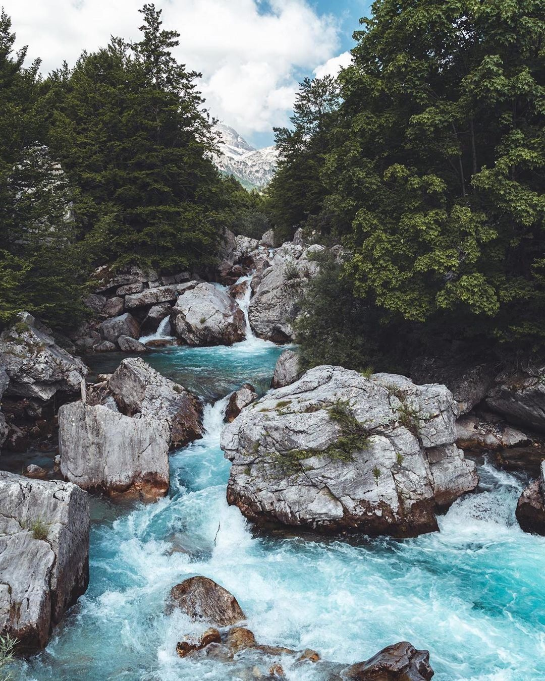 hiking in the Balkans