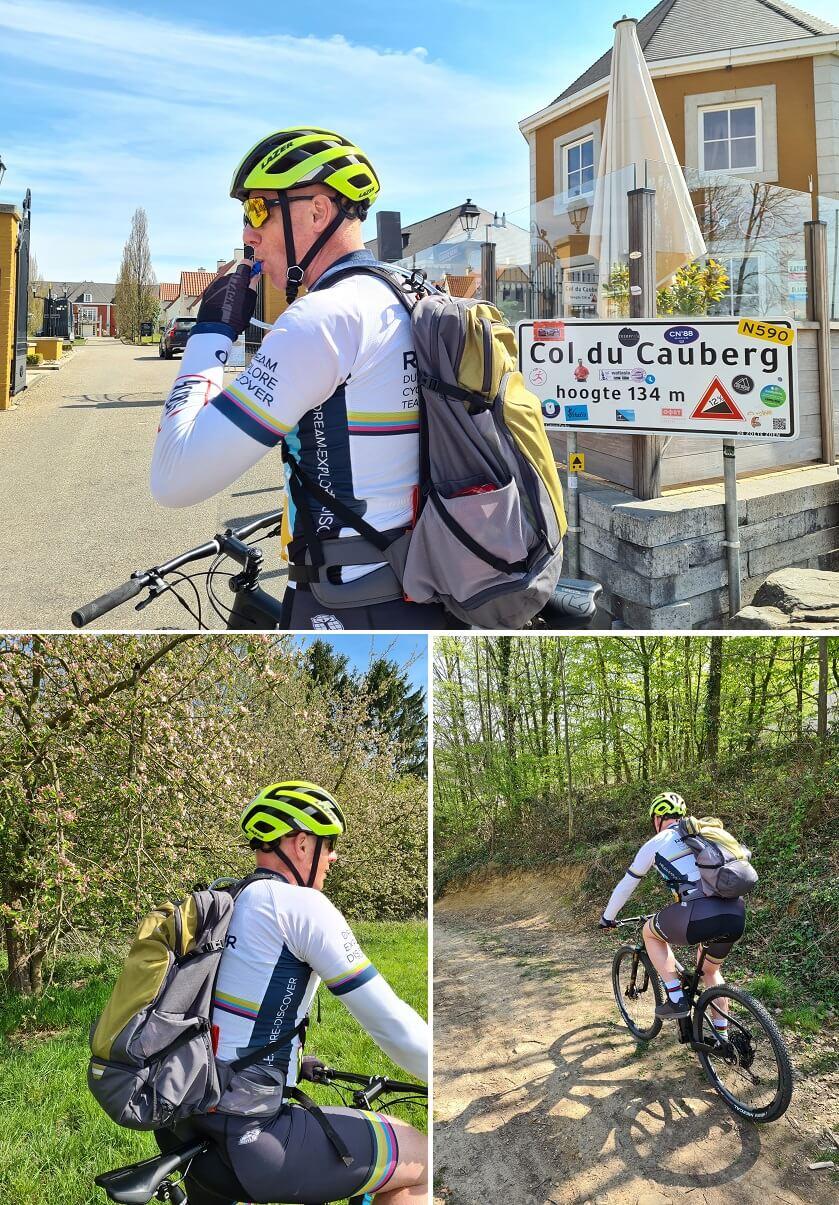 De comfortabele mountainbikerugzak Bike Alpine Pro 28+