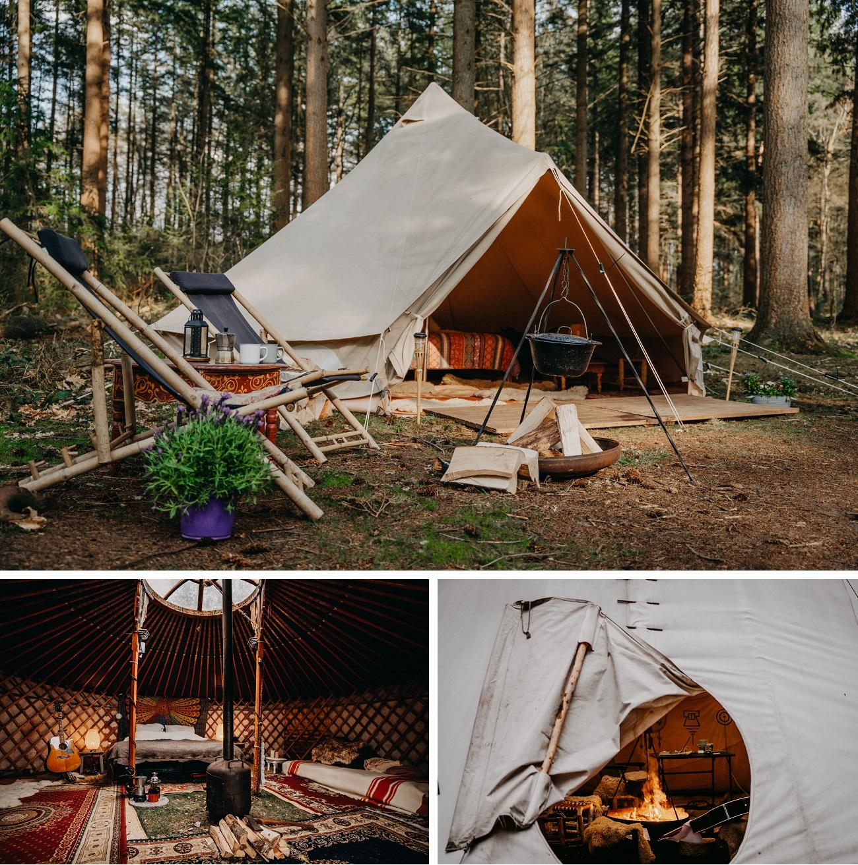 Nordic Woods tipi tent
