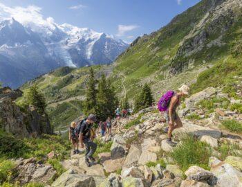 Ultiem hiken in de Franse Alpen