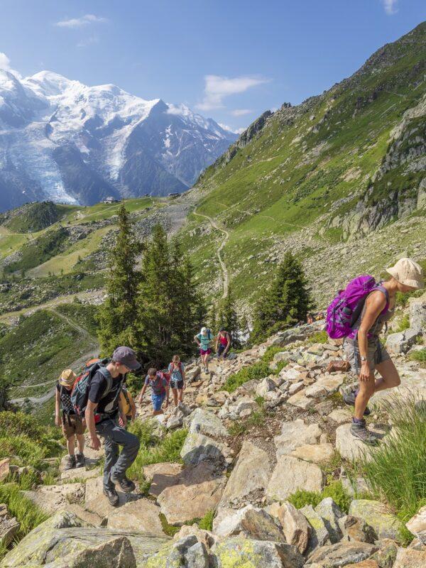 hiken in de Franse Alpen