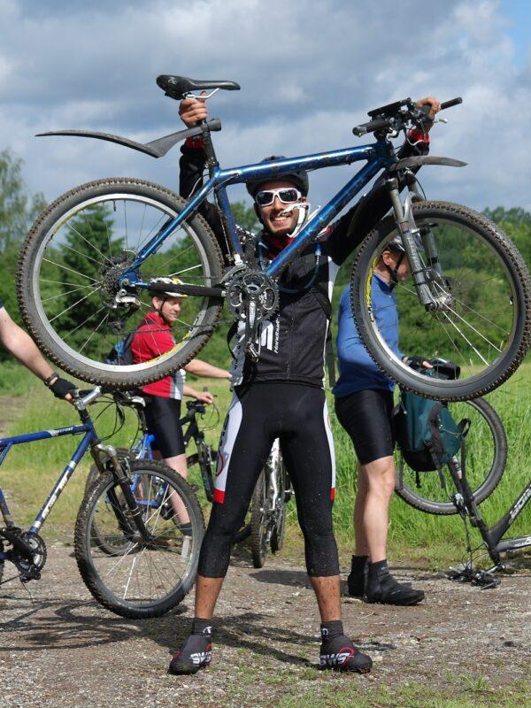 mountainbiken in de Viroinval