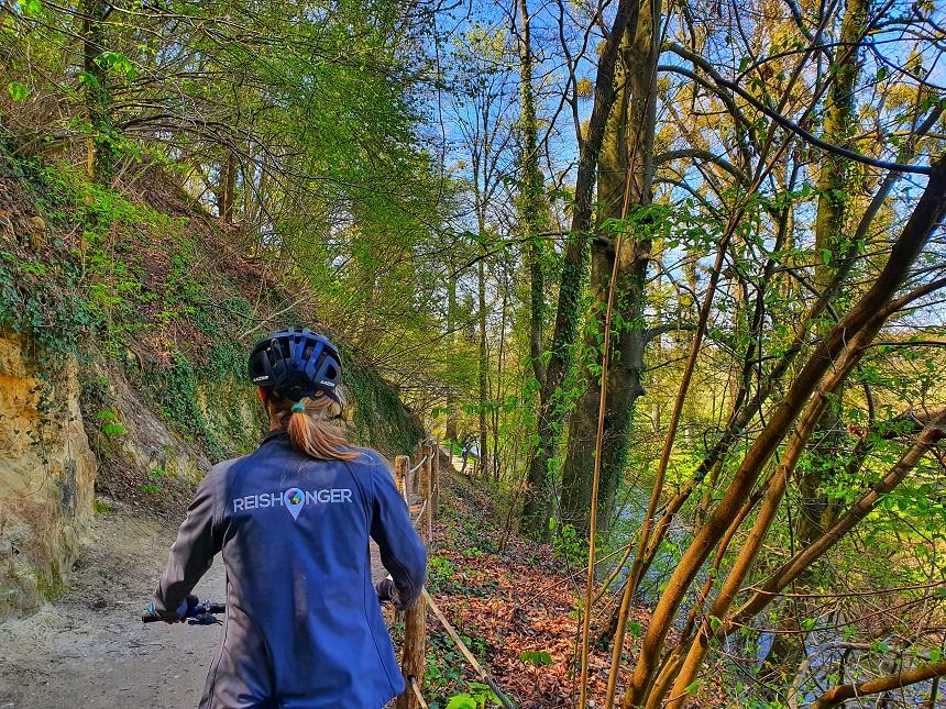 MTB-route Shimano Valkenburg Houthem