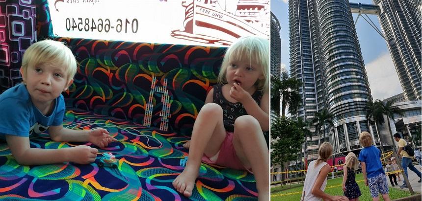 Petronas Towers van speelgoed