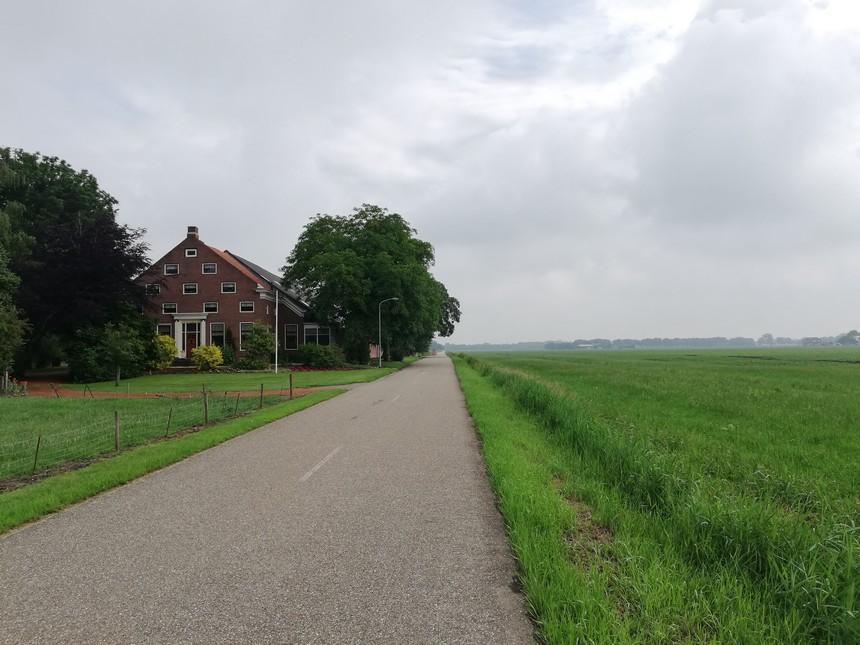 Grensverhalen Groningen - De Mellemaheerd aan de Hamdijk bij Booneschans