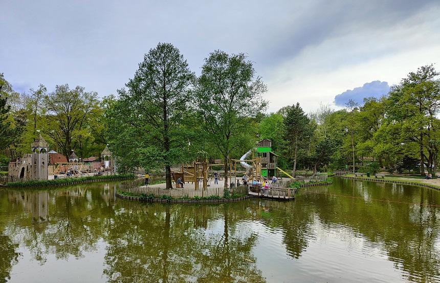 vernieuwde speeltuin de lommerbergen