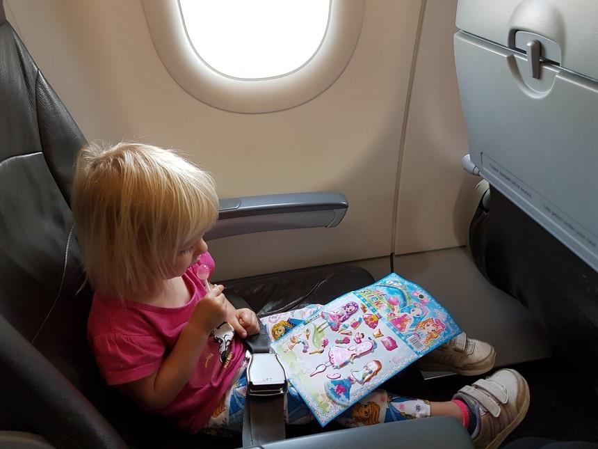 vliegtuig lolly