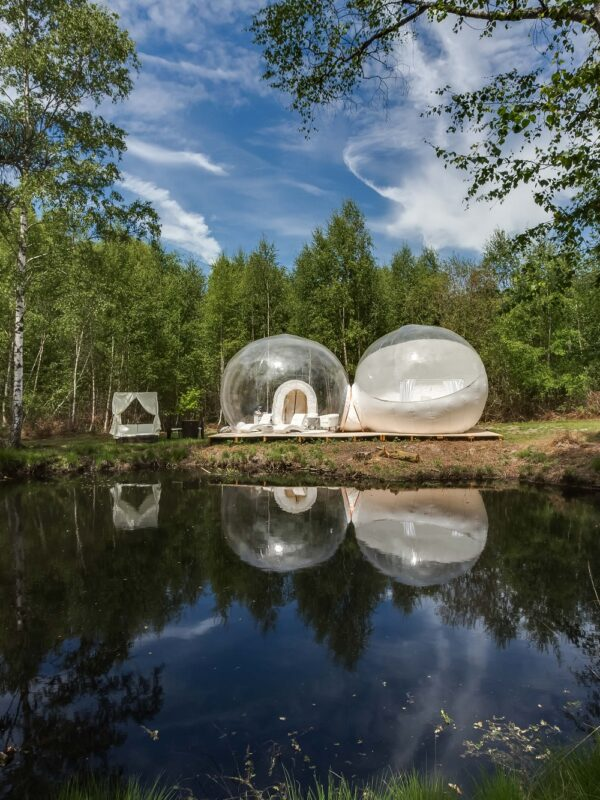 Les gîtes insolites de Sologne : bulles