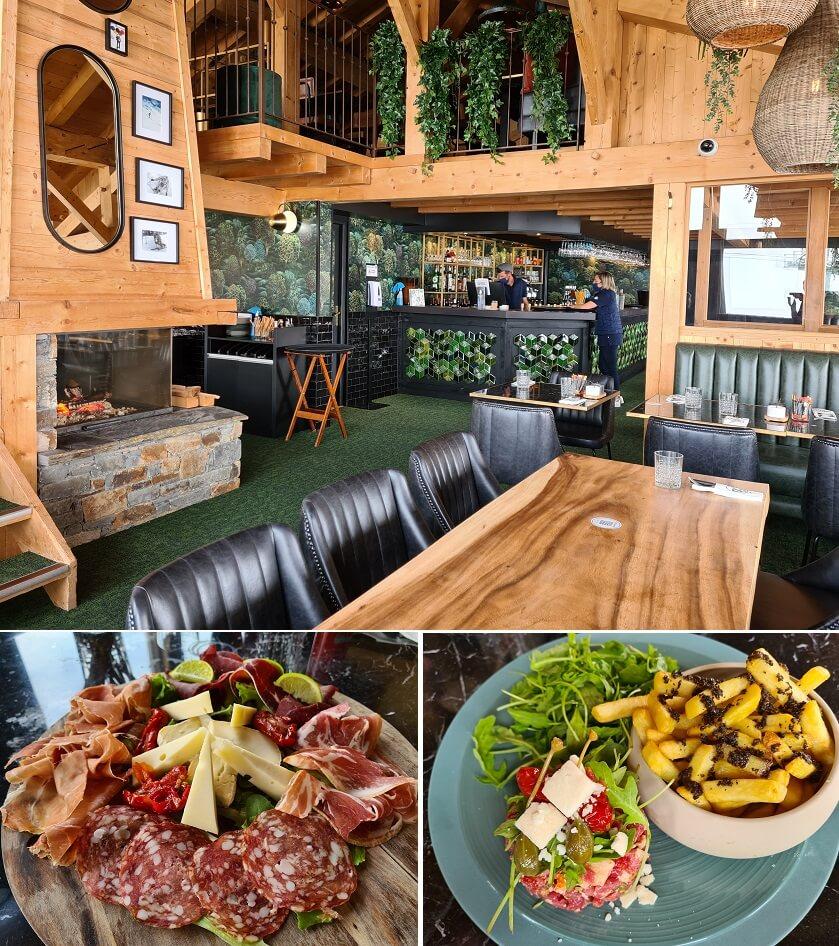 Heerlijk gegeten bij het gezellige bergrestaurant ROC SEVEN