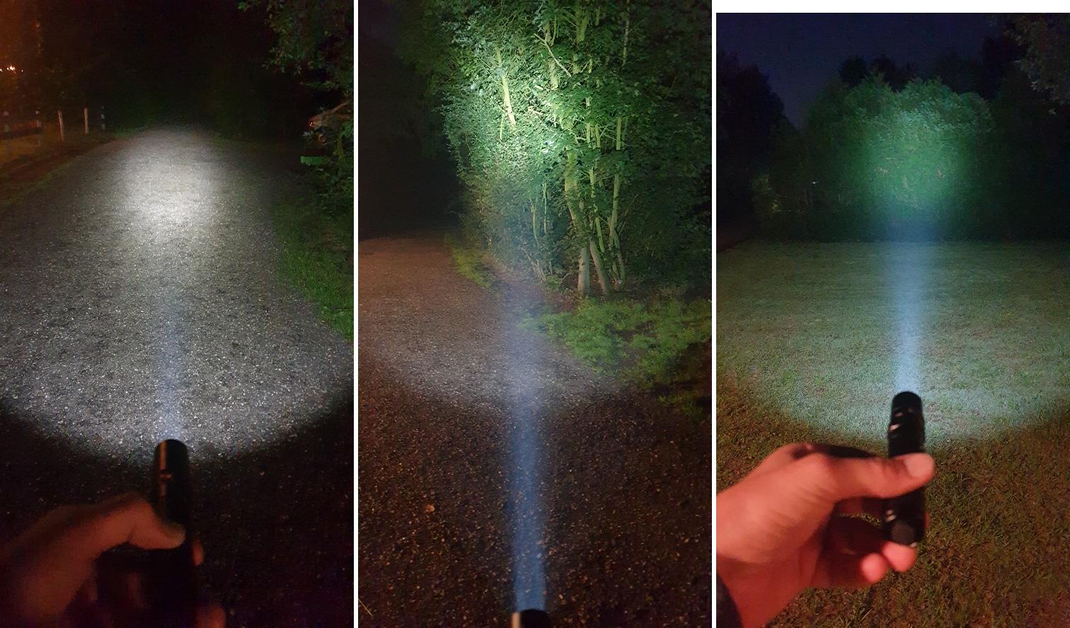 LED zaklamp Fenix UC35 V2