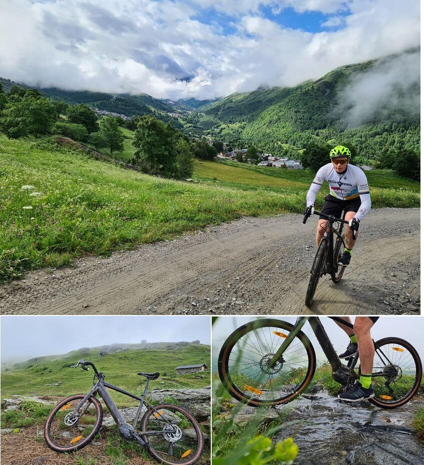 Met de mountainbike de bergen rondom Les Menuires ontdekken