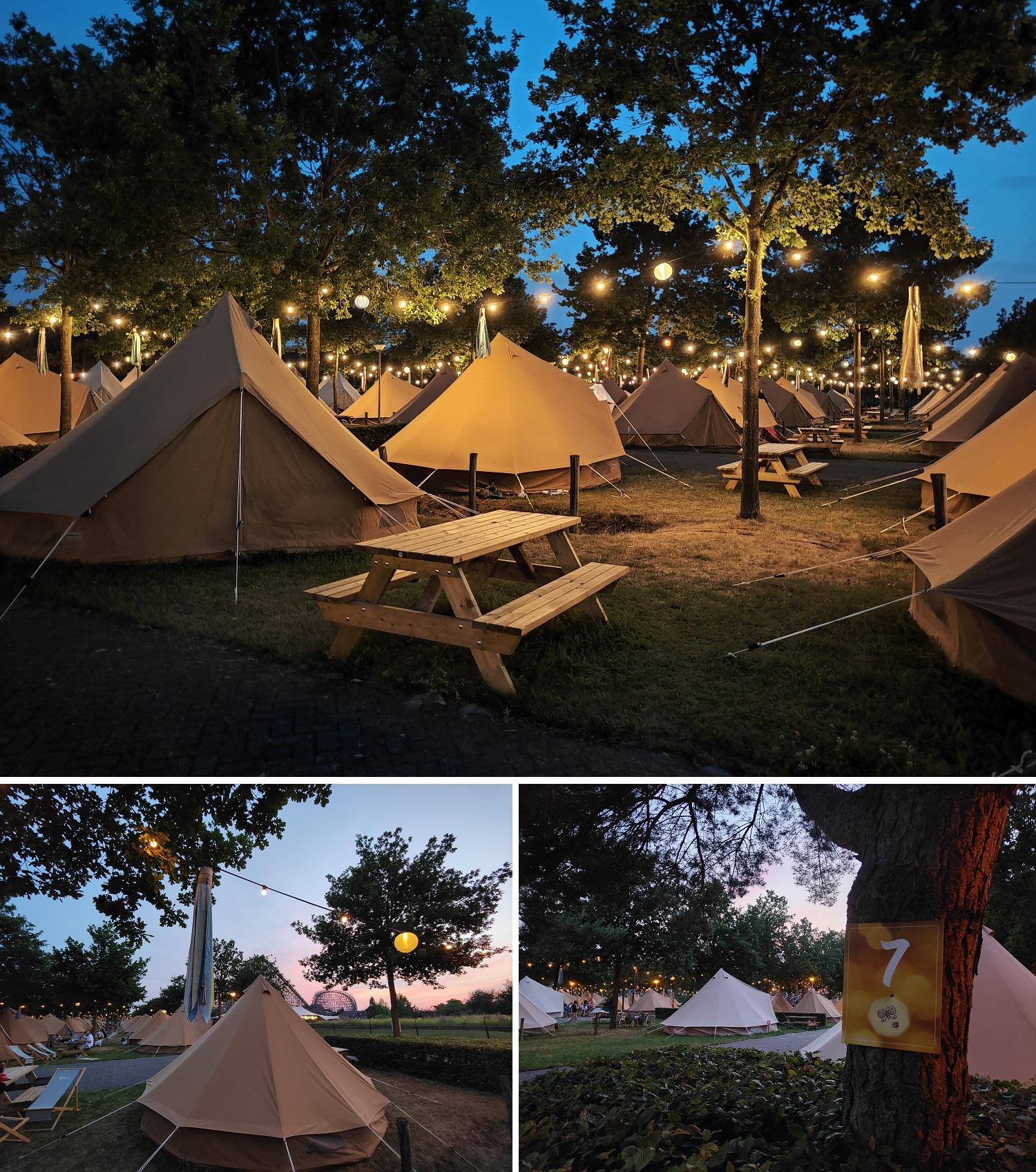 Summercamp camping Toverland