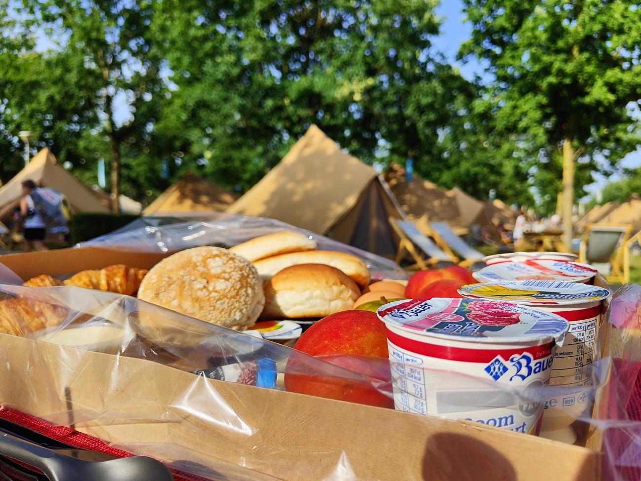 Summer Camp Toverland breakfast