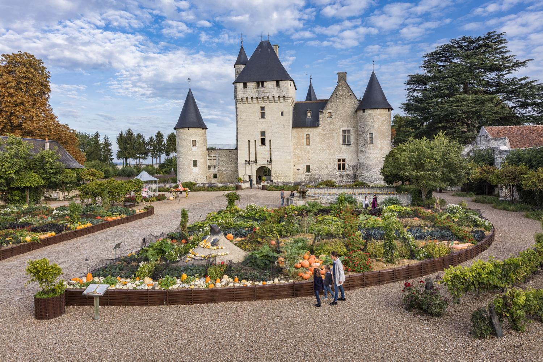 vakantie in het Loiredal Rivau