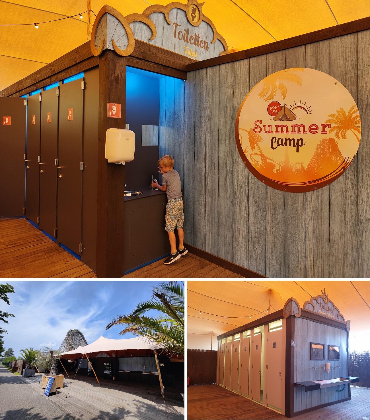 faciliteiten pop-up Summer Camp Toverland