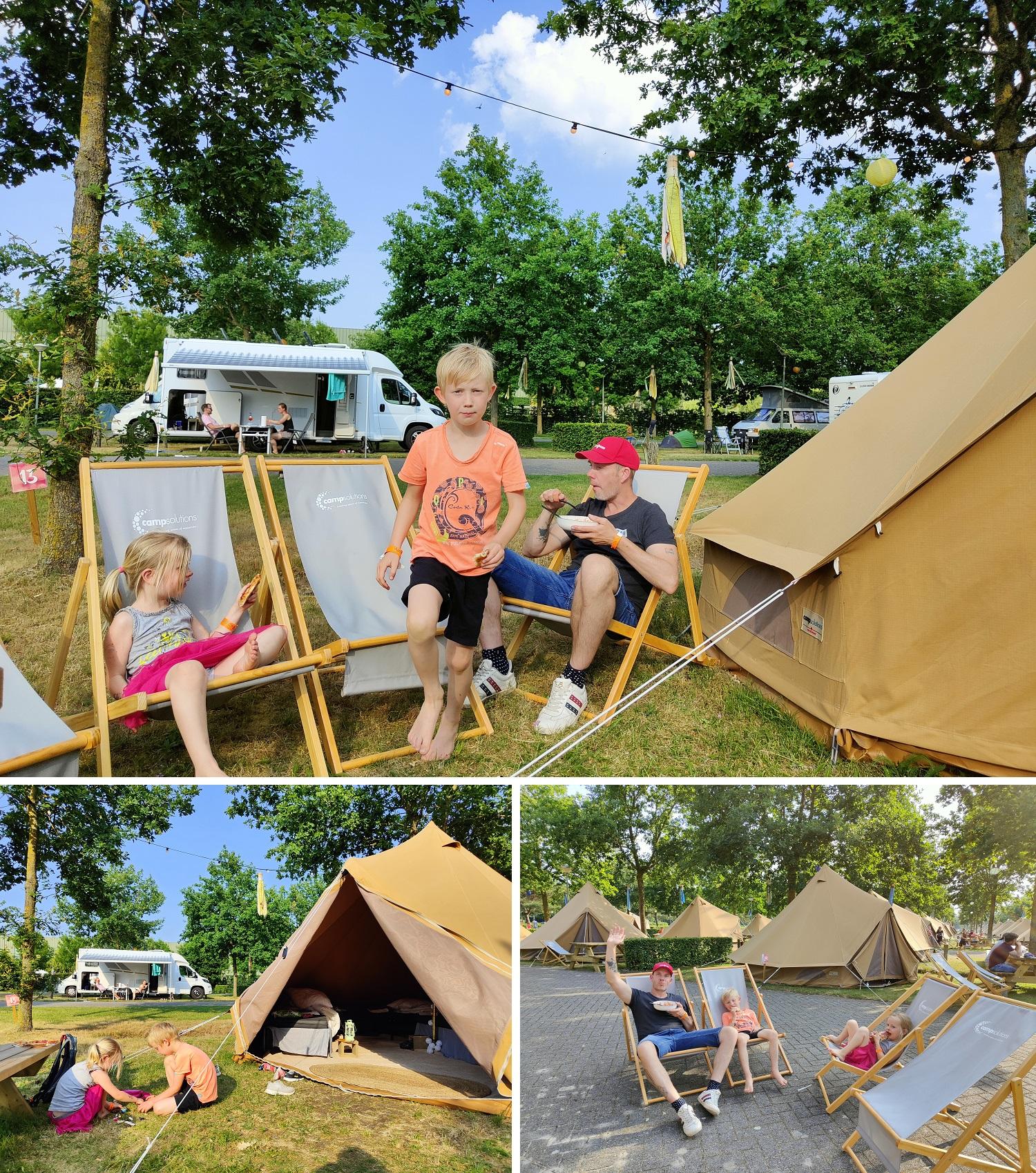 kamperen op Toverland