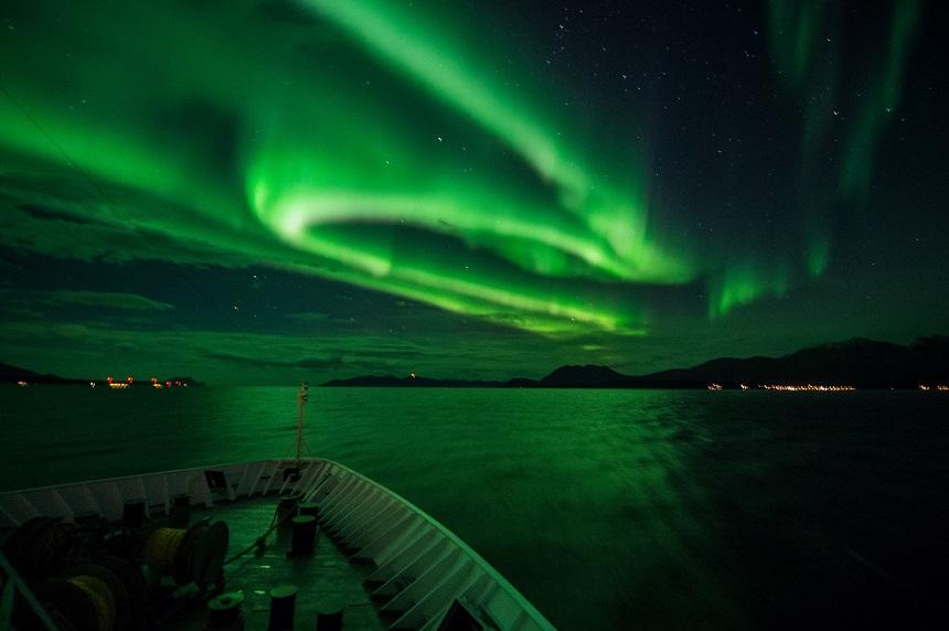 Noorderlicht Hurtigruten Ms -Nordkap, Tromso, foto van Andreas Kalvig Anderson