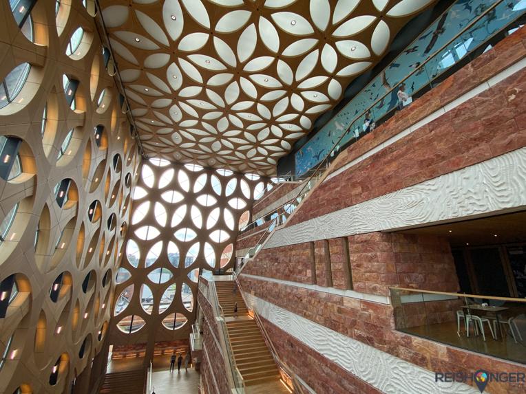 Zelfs het gebouw van Naturalis is spectaculair