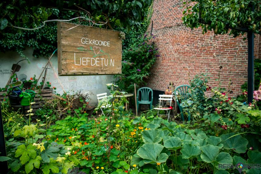 Gekroonde liefdetuin Leiden